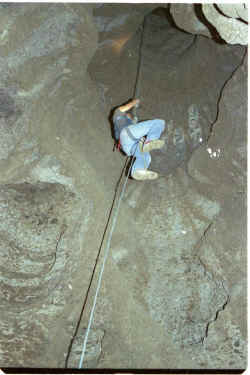 Mechanical ascenders are used for prusiking up the rope