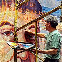 Jorge Monroy's Hospital Mural